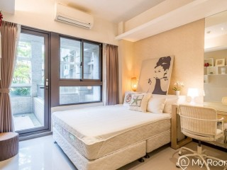 A beautiful whole apartment walking 6 min to Guting MRT Station