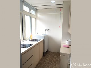 Bright and Homey Studio with a Kitchen Near NCCU and Taipei 101